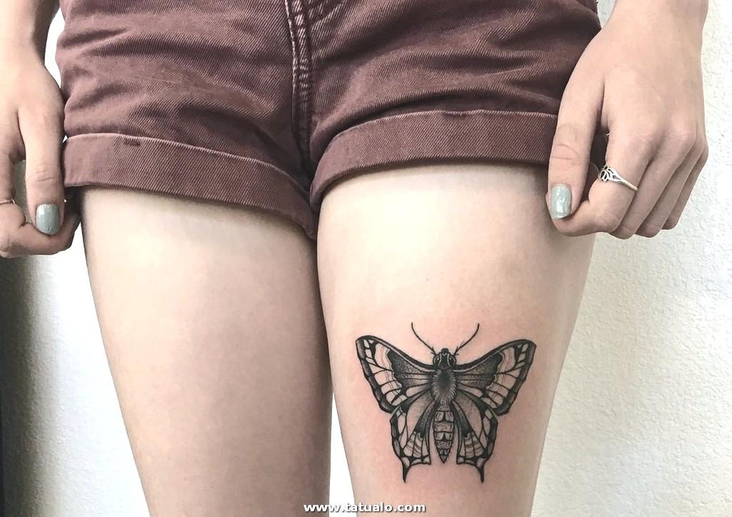 19 Tatuaje Mariposa