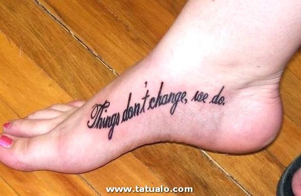 19 Tatuajes Pie