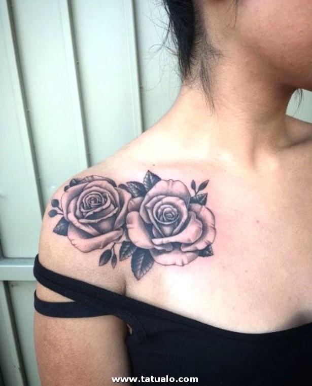 2 Rosas En El Hombro Tato