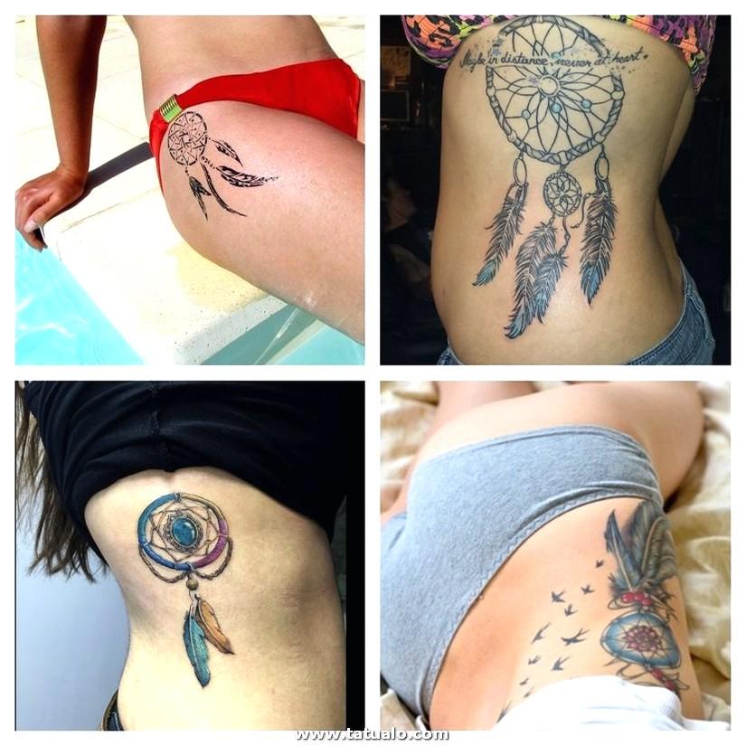 664706275 Tatuaje Atrapasuenos Mujer