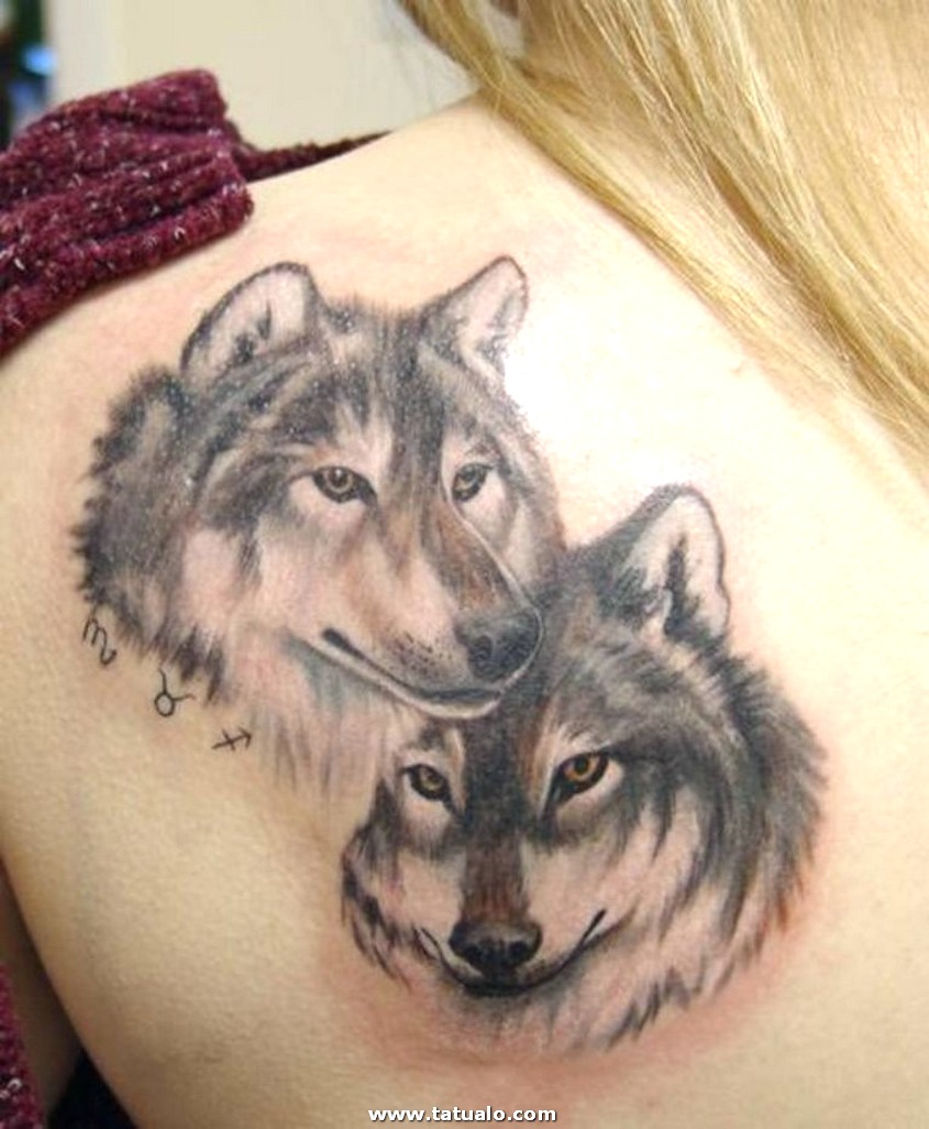 77 Wolf Tattoo For Women