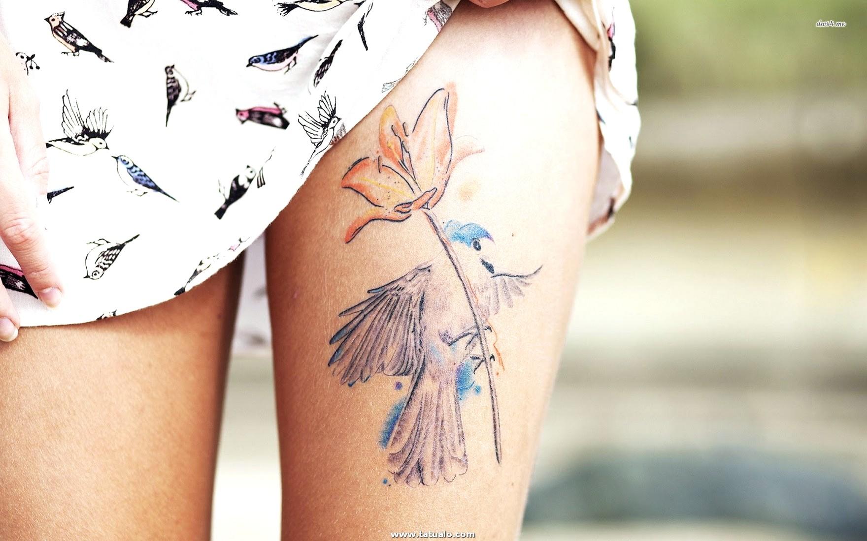 Alta Calidad Tatuajes Para Mujeres En La Pierna