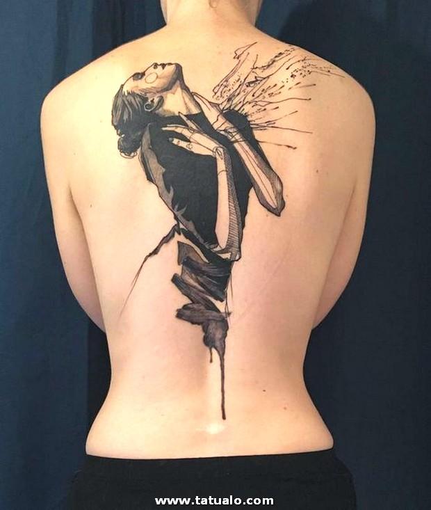 Grandes Tatuajes Para La Espalda 9