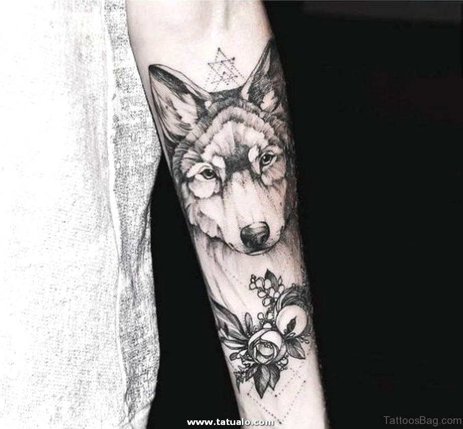 Great Wolf Tattoo Design