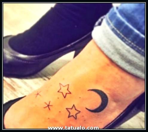 Imagenes De Tatuajes Para Mujer En El Pie Con Estrellas