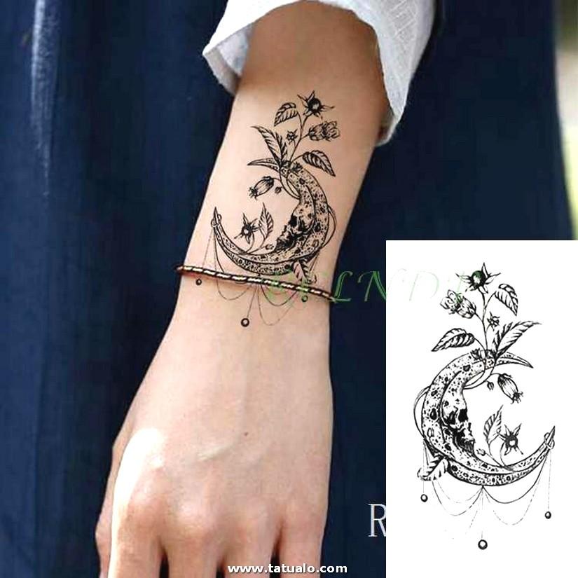Impermeable Etiqueta Engomada Del Tatuaje Temporal Mariposa Lib Lula Falso Tatuaje Tatouage Mu Eca Mano Pie.jpg Q50