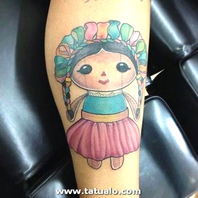 Mexican Doll Tattoos Para Mujeres