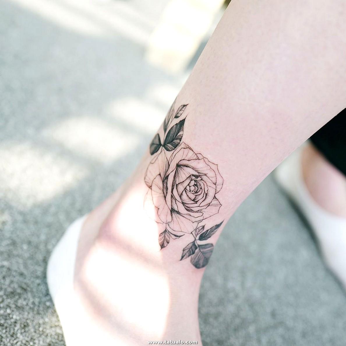 Imagenes de TATTOOS 🥇 ¡Tatuajes para mujeres en los Pies!