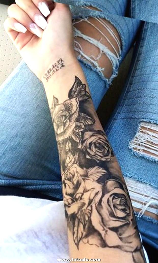 Tatuaje En El Antebrazo Para Mujeres 6