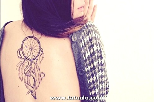 Tatuaje En La Espalda Para Mujer