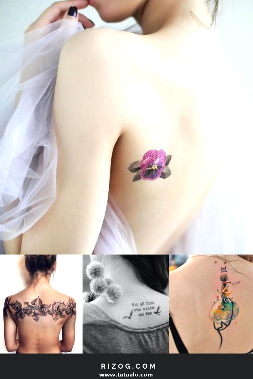 Tatuajes Hermosas Para Mujeres En La Espalda