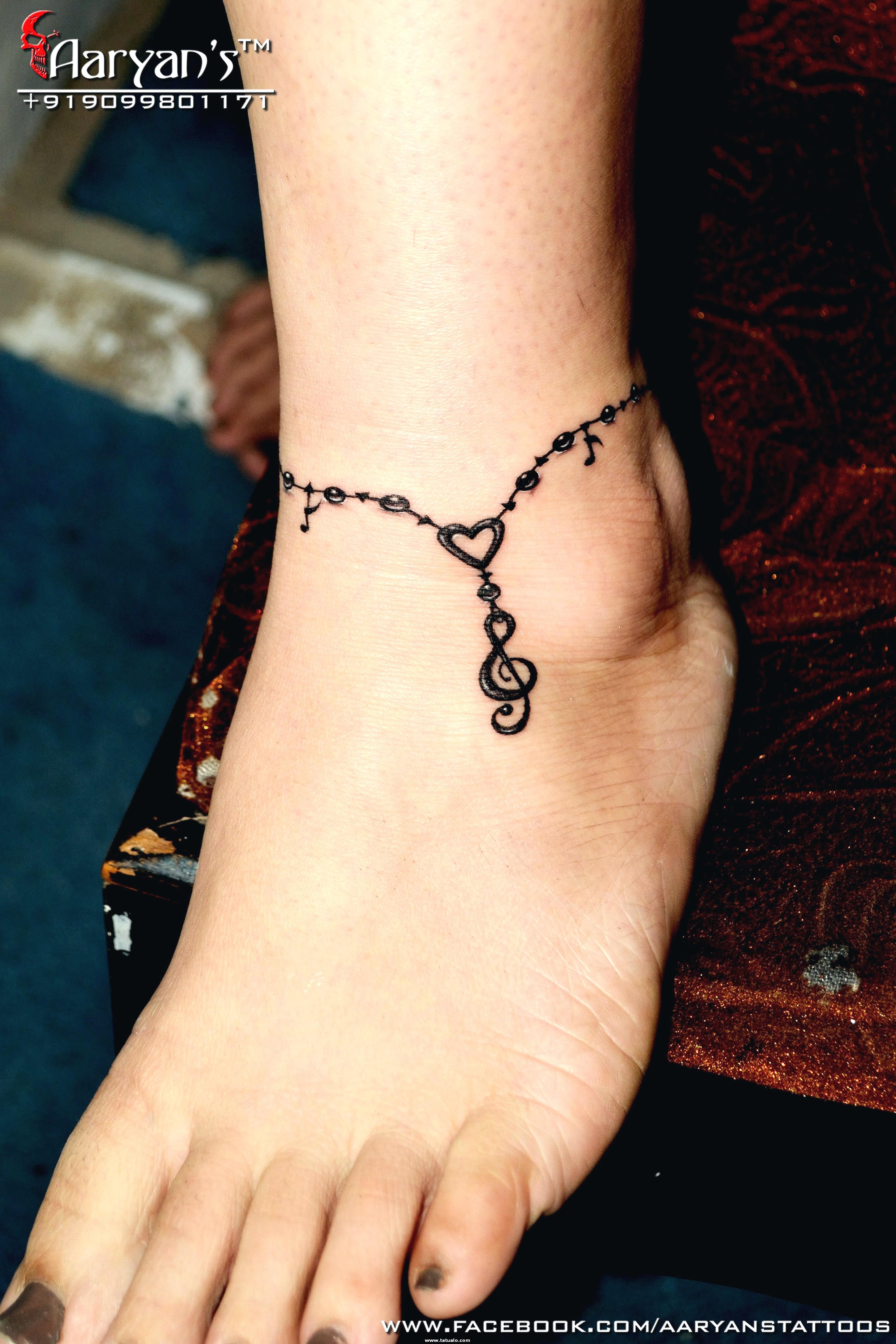 Tatuajes Para Pies Y Tobillo De Mujer. Imagenes De Tatuajes Para