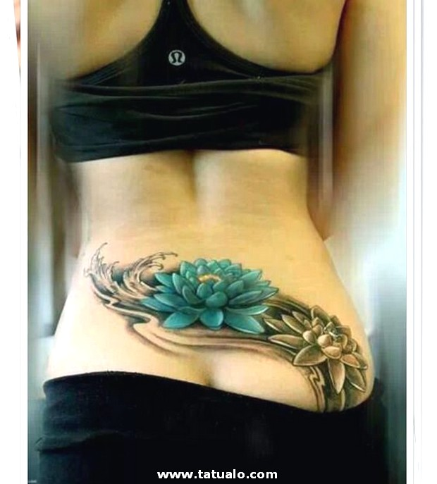 Tatuajes De Flor De Loto En La Espalda ..... E1533145082845