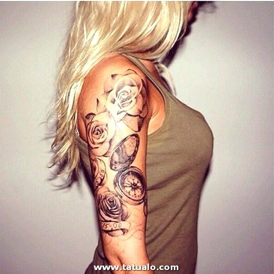 Tatuajes En Brazo Mujer 99 500x500
