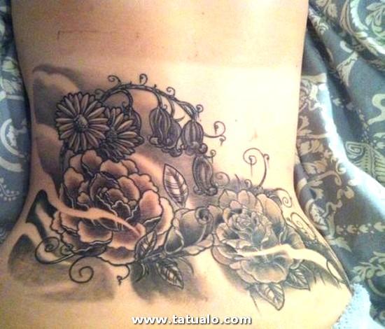 Tatuajes Flores Para Mujer