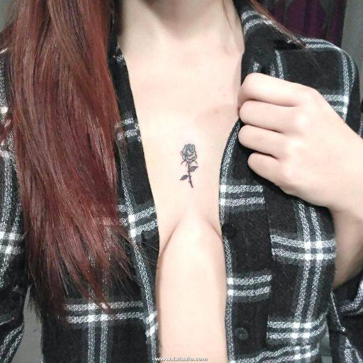 Tatuajes Para El Escote 4