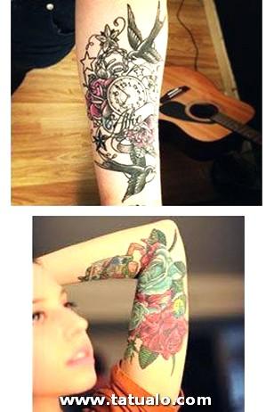 Tatuajes Para Mujer En El Brazo Y Antebrazo