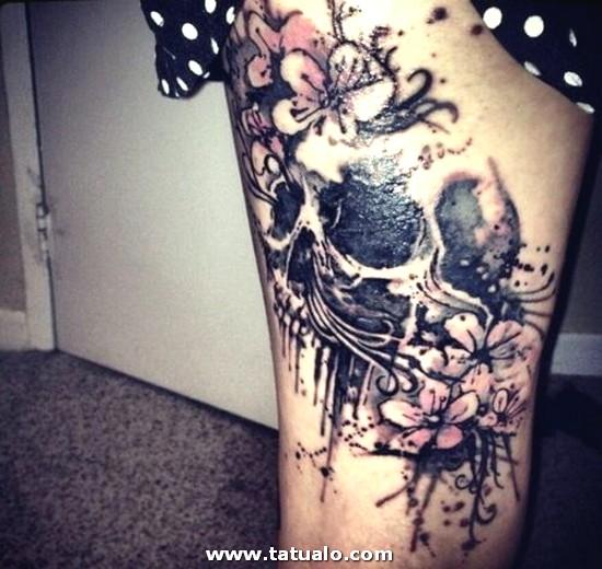 Tatuajes Para Mujeres En La Pierna 47 500x473