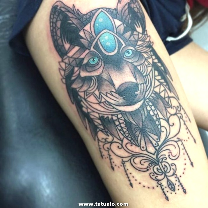 Wolf Tattoo Designs 10