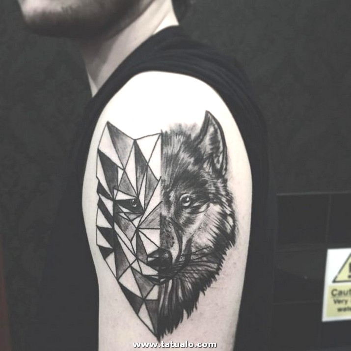 Wolf Tattoo Designs 36