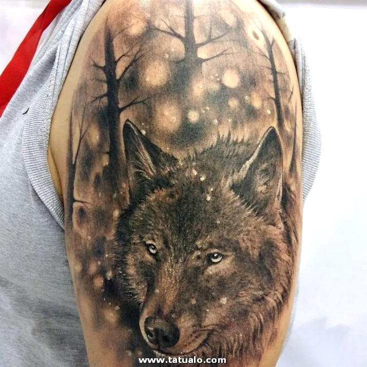 Wolf Tattoo Designs 39