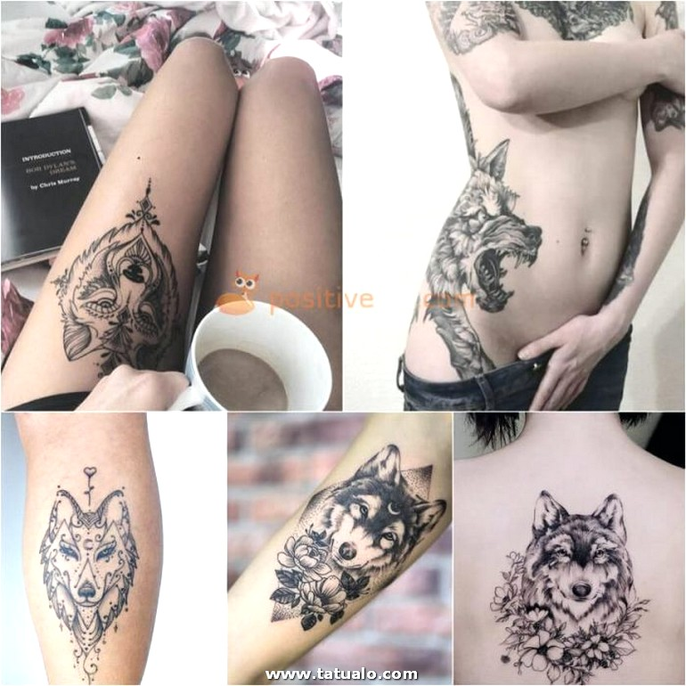 Wolf Tattoo. Wolf Tattoo Designs. Wolf Tattoo For Women 22.11