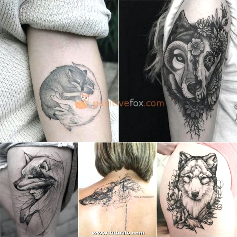 Wolf Tattoo. Wolf Tattoo Designs. Wolf Tattoo For Women 22.3
