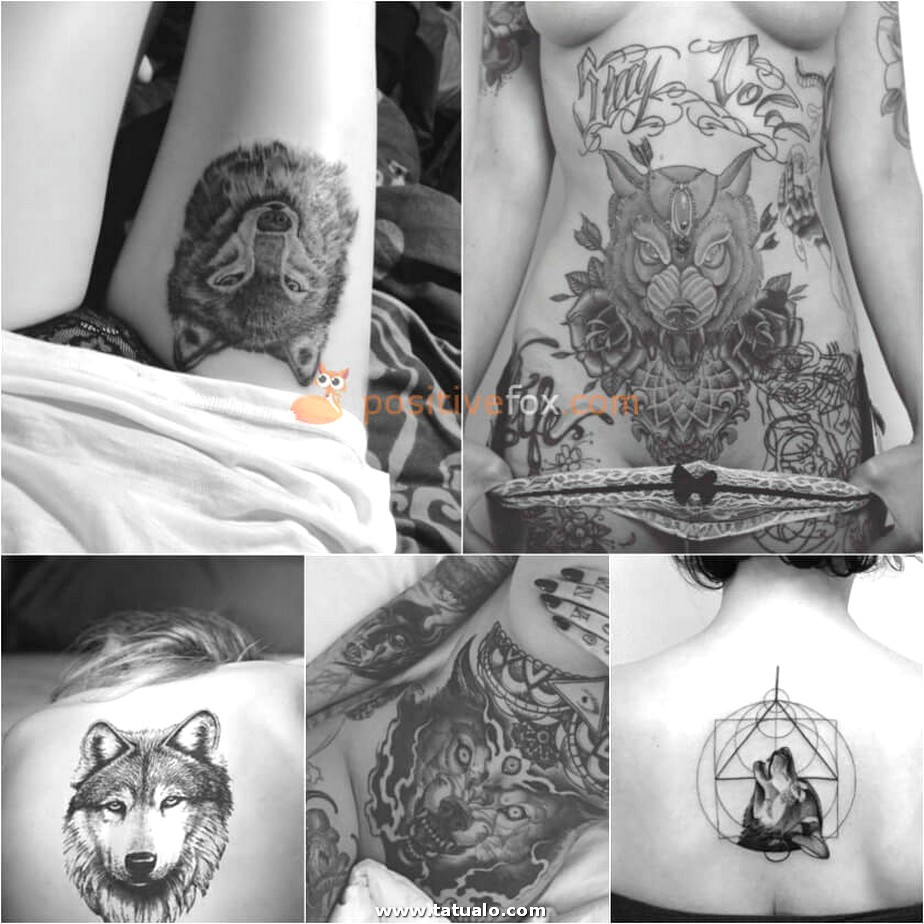 Wolf Tattoo. Wolf Tattoo Designs. Wolf Tattoo For Women 22.4