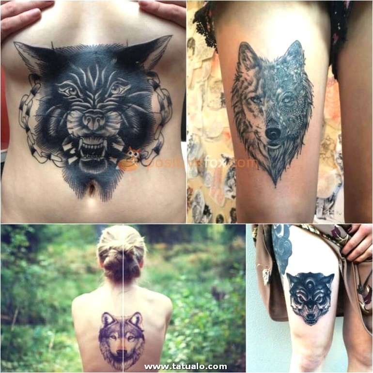 Wolf Tattoo. Wolf Tattoo Designs. Wolf Tattoo For Women 22.5