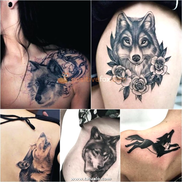 Wolf Tattoo. Wolf Tattoo Designs. Wolf Tattoo For Women 22.7