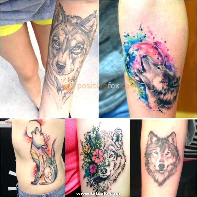 Wolf Tattoo. Wolf Tattoo Designs. Wolf Tattoo For Women 22.9