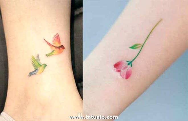 A Color Tatuajes Mujer
