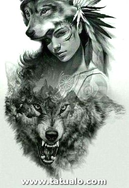 Angry Wolf Head Fresh 14 Awesome Wolf Tattoos For Women And Men POP TATTOO