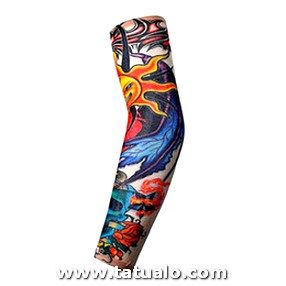Body Arm Stockings Tatoo For Men Women Arm
