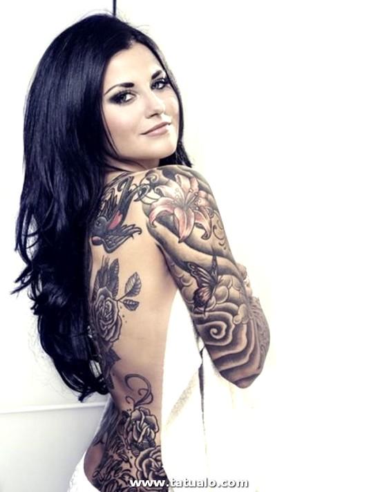 Imagenes De Tattoos Tatuajes Para Mujeres En La Espalda