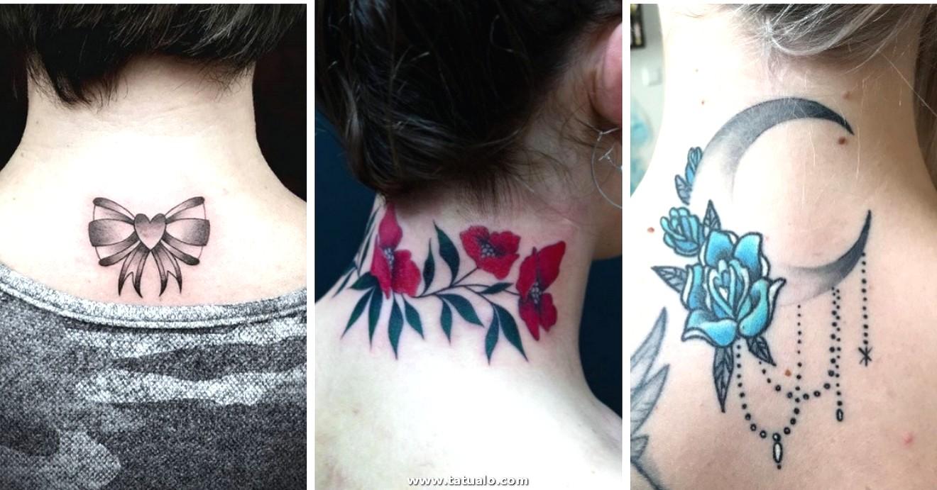 Collage Tatuajes Nuca Y Cuello 0