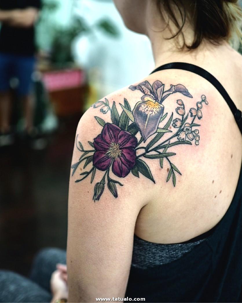 Flores Bellas Diseno Tatuajes Opciones