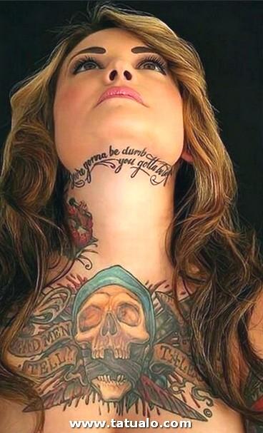 Fotos De Tatuajes En El Cuello 1
