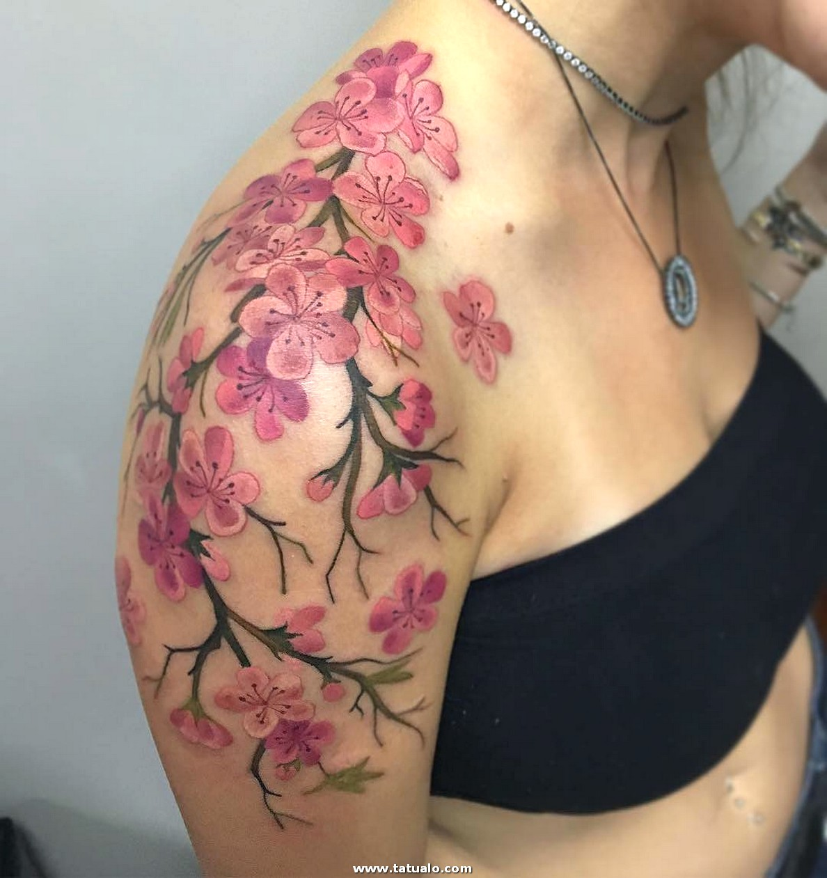 Hombro Tatuajes Para Mujeres 79