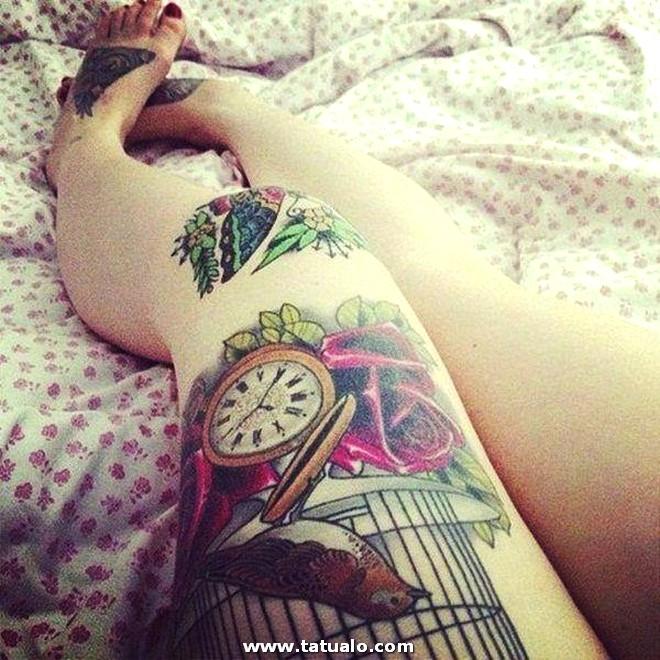 Ideas De Tatuajes En Las Piernas