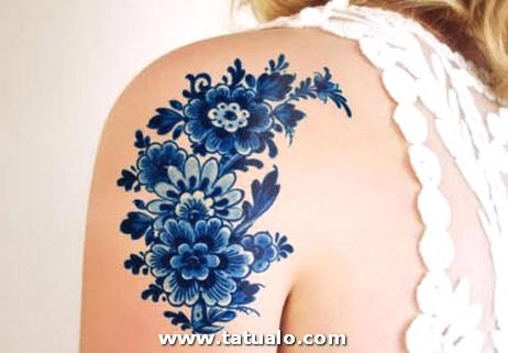 Imagenes De Tatuajes Para Mujer Bonitos Hombro