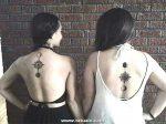 Los Mejores Tatuajes Pequenos Mujeres Amigas Lunas 600x448
