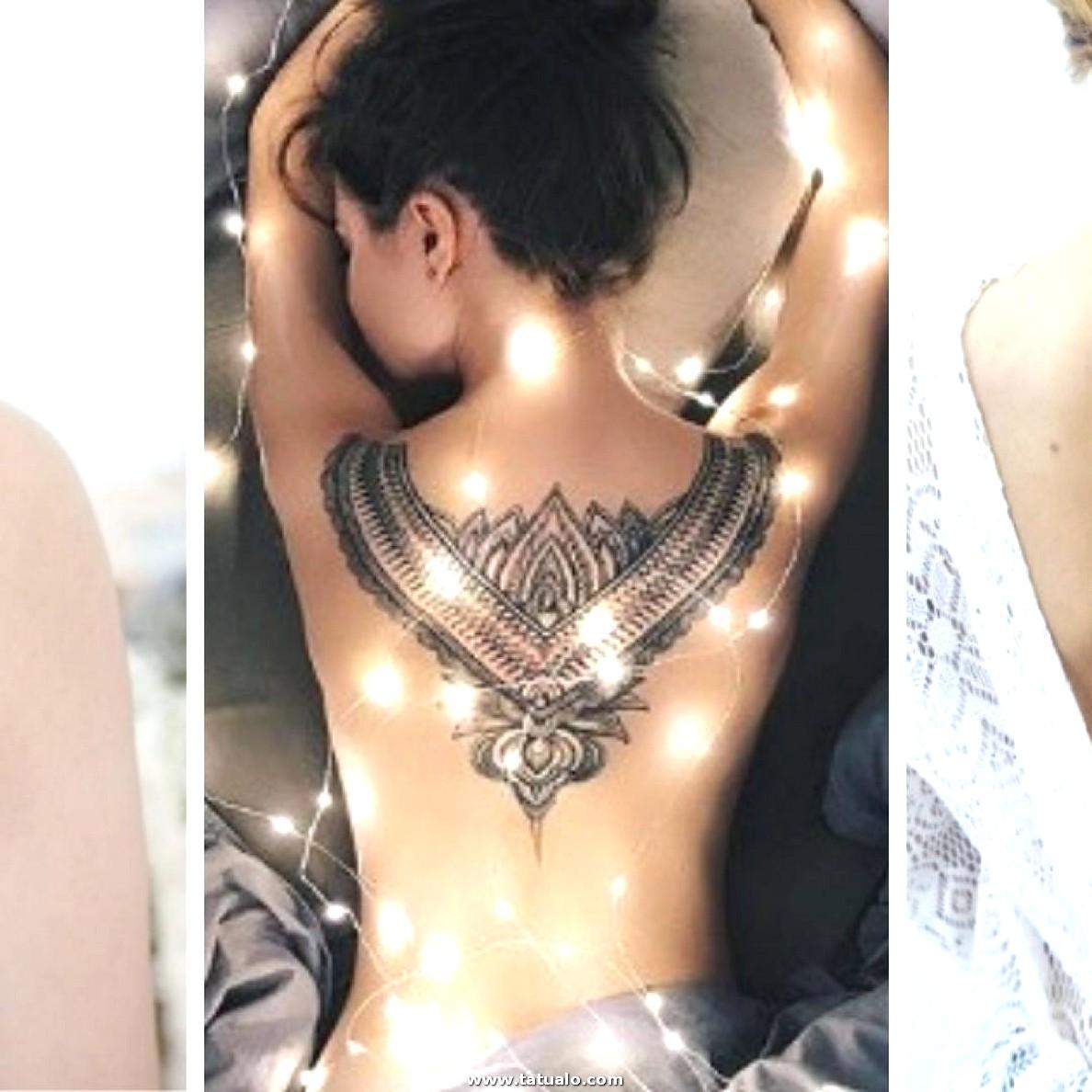 Los 50 Tatuajes En La Espalda Mas Hermosos Y Delicados Para Mujeres Fuertes 0