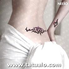 Mujeres Del Tatuaje Temporal Sexy Cintura