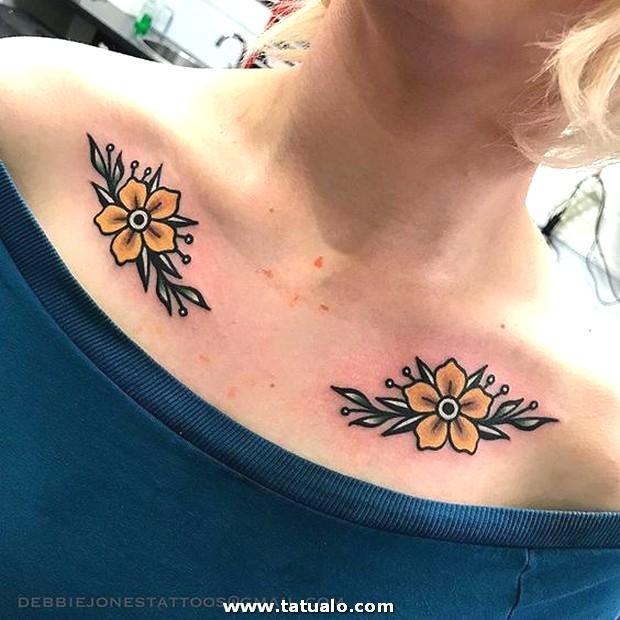 Pecho Tatuajes Mujeres 2