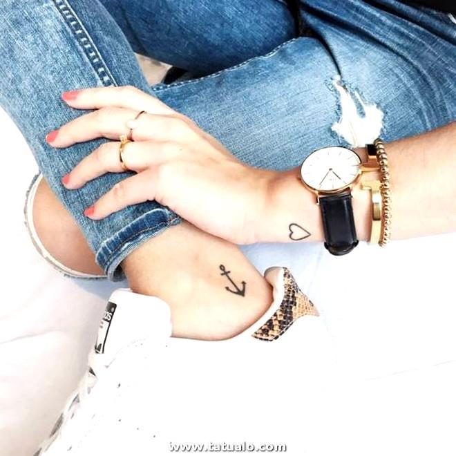 Pequenos Tatuajes Para Mujeres Ancla De Tobillo