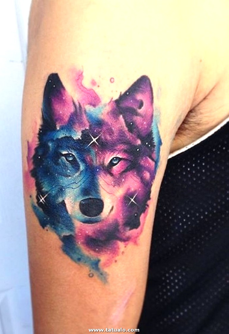 Space Wolf Tattoo 28