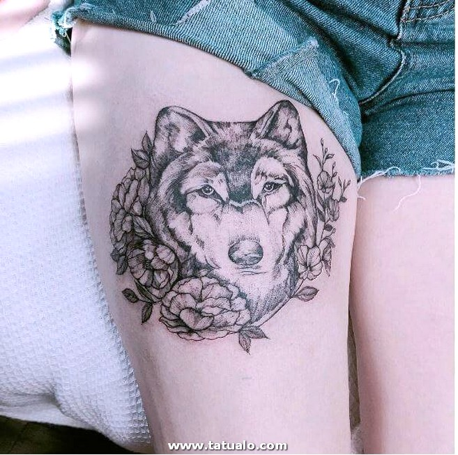 Tattoo En La Pierna