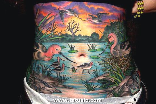 Tatuaje Barriga