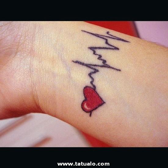 Tatuaje Corazon Enamorado